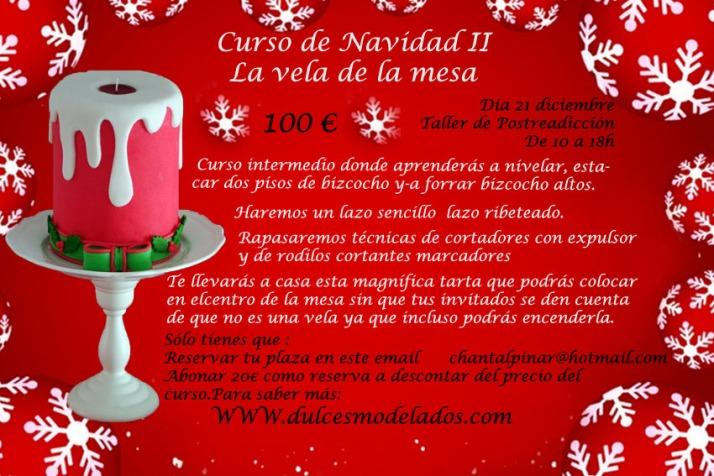 Curso de Navidad II Vela