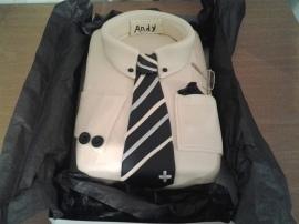 camisa blanca Cake central