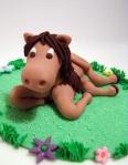caballo azucar fondant