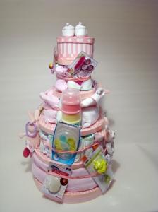 tarta pañales 5 piso