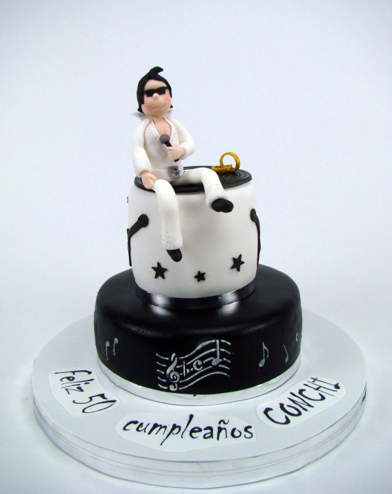 Tarta Elvis Presley cake