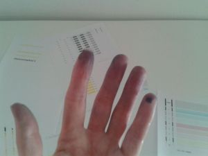 Mis manos acabaron....