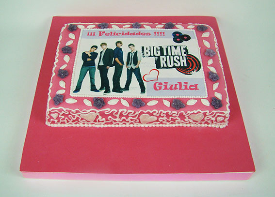 tarta big time rush