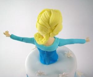Elsa frozen modelado figura