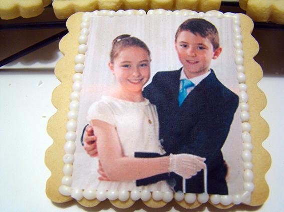 galletas comunión foto