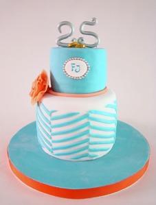 tarta 25 aniversario