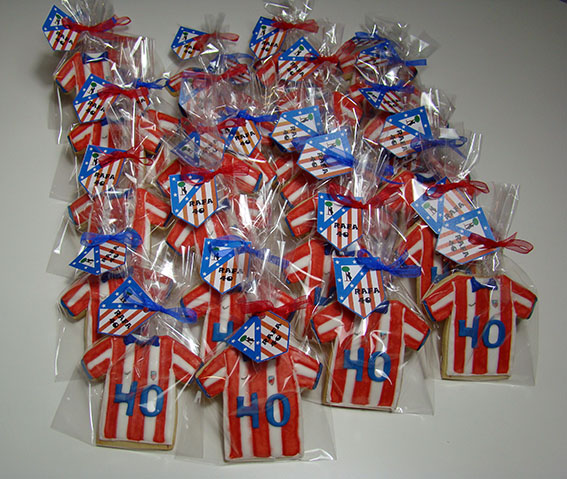 galleta camiseta atletico de madrid