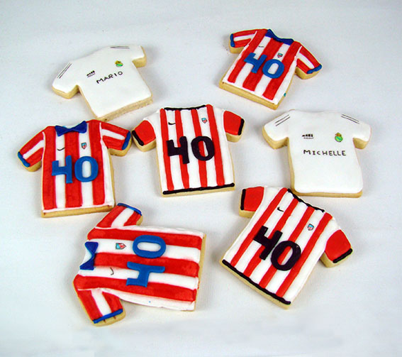 mix galletas camiseta futbol