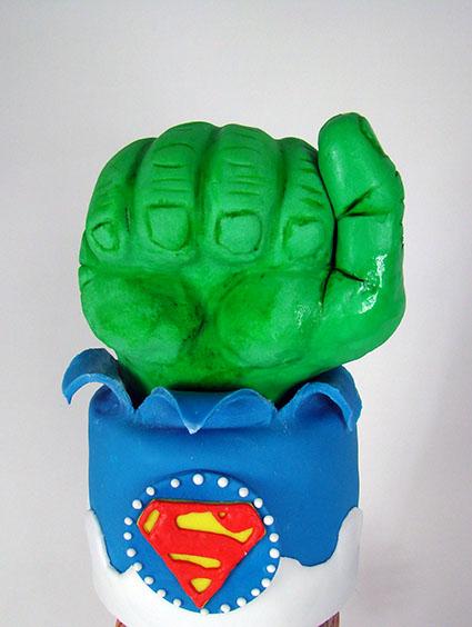 tarta superheroes 2 3
