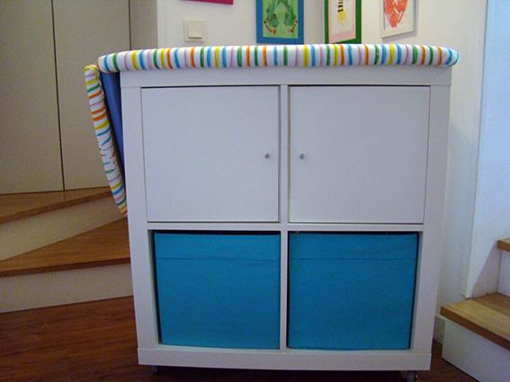 Mueble para la plancha dulces modelados for Mueble para planchar ikea