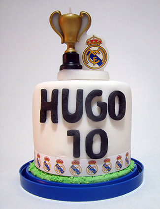 mini tarta real madrid 2