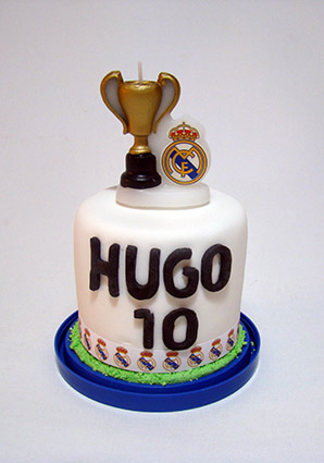mini tarta real madrid