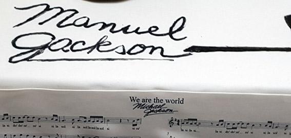 Tarta Micheal Jackson 3