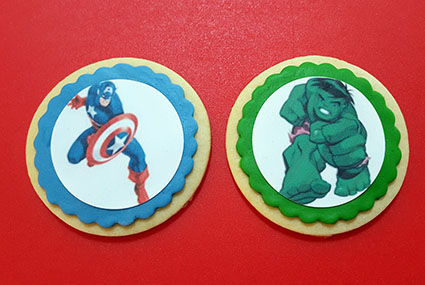 galletas superheroes superhero cookie