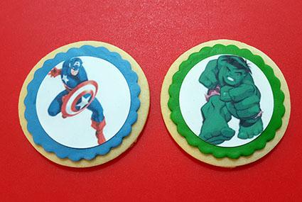 galletas superheroes superhero cookie
