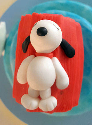 tarta snoopy carlitos brown 4