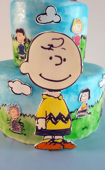 tarta snoopy carlitos brown 8