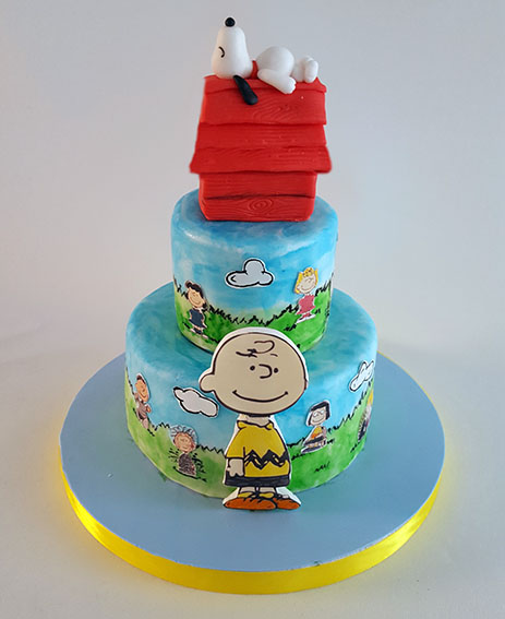 tarta snoopy carlitos brown 9