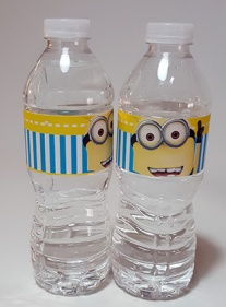 BOTELLAS AGUA MINION