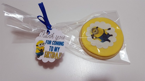 galleta minion 1